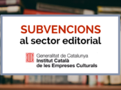 Subvencions ICEC-sector editorial